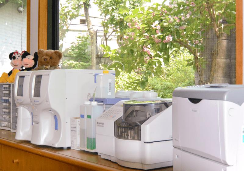 処血算計・生化学検査置室